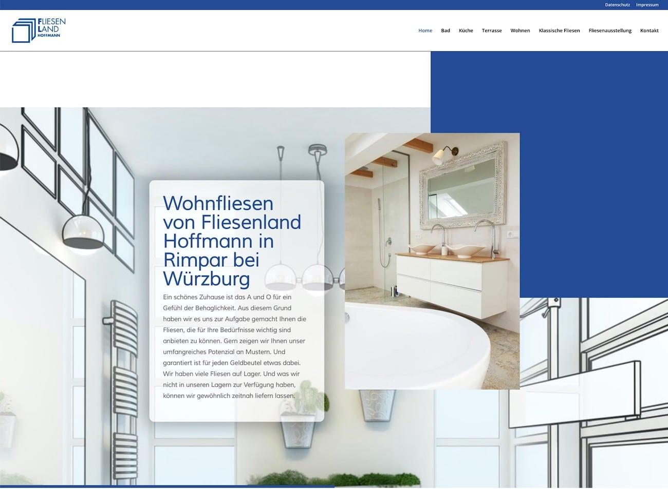 FL Fliesenland Rimpar (bei Würzburg) - neue Webseite
